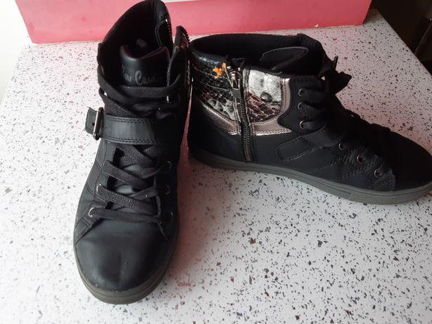 Сникерсы ботинки Pierre Cardin (Пьер Карден) 38р хайтопы