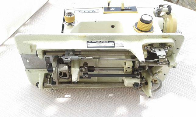 Maquina costura ponto corrido com iluminação
