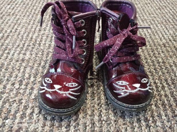 Демісезонні лакові черевички