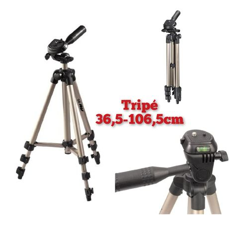 Tripé fotográfico máquina nível laser extensível fotográfica