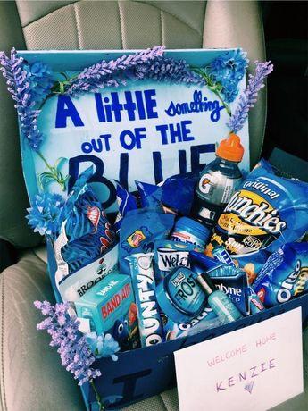 Zestaw prezentowy, słodyczy, upominkowy color box