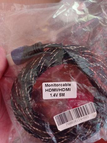 Кабель шнур HDMI-HDMI 5метров