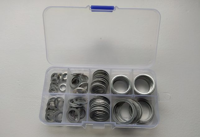 Набор алюминиевых колец шайб 6-22мм (по 10шт.)