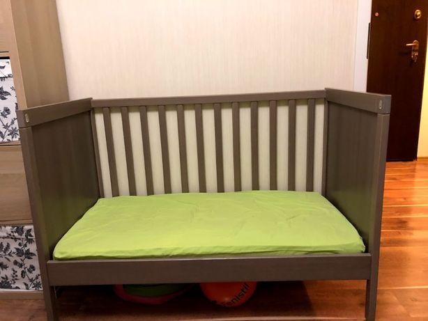 Łóżeczko dziecięce Ikea Sundvik