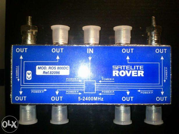 Distribuidor de sinal por cabo rover ros 800dc 5-24000mhz