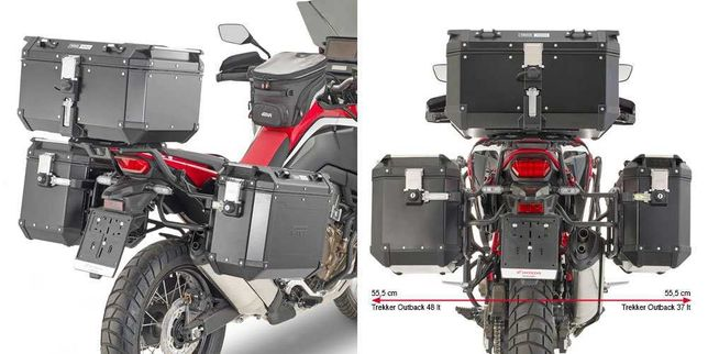 Honda CRF1100 Africa Twin Suporte Malas Crash-Bars