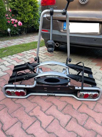 Wypożyczę bagażnik rowerowy uchylany na hak, 2 rowery THULE