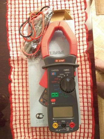 Клещи электроизмерительные цифровые