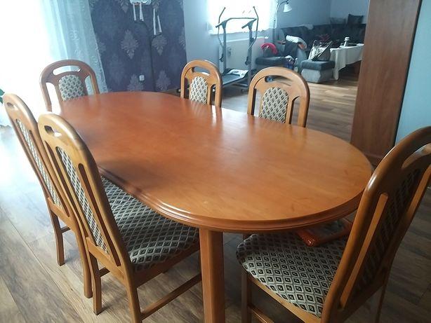 Sprzedam stół z krzesłami- tanio!