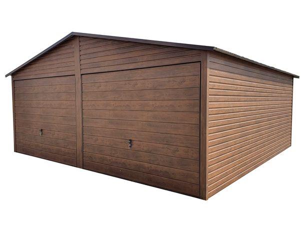 Garaż Blaszany 6x6 Blaszak Wzmocniony Garaże Wzmocnione 6x6 7x6 8x6