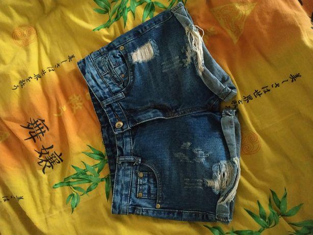 Шорты S джинсовые