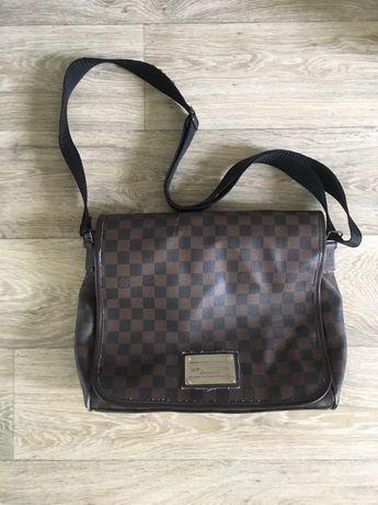 Месенджер кожаная сумка Louis Vuitton