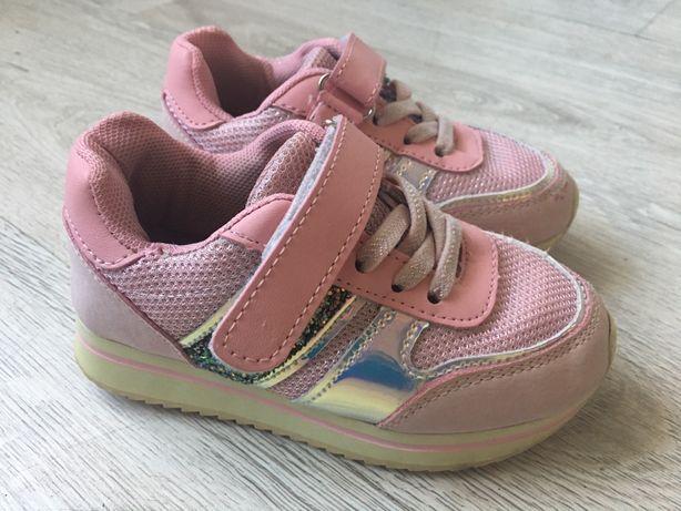 Różowe adidasy dla dziewczynki rozmiar 26
