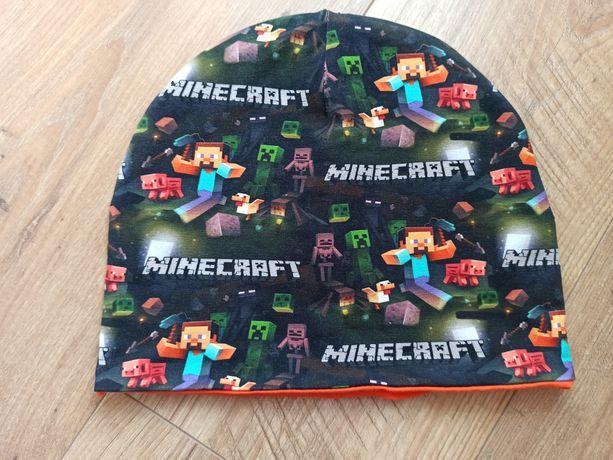 Czapka Minecraft obwód głowy 53-54 cm