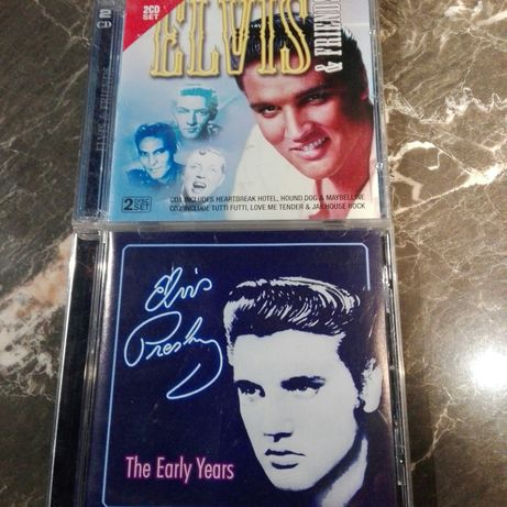 Dwa cd Elvis Presley