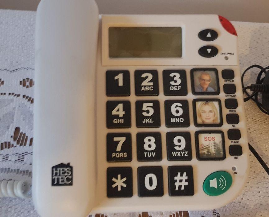 Telefon stacjonarny sos z pilotem dla seniora maxcom Trzcianka - image 1