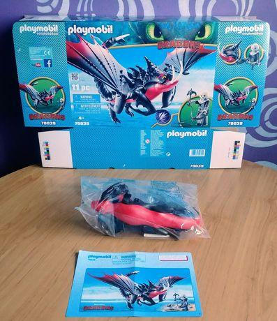Playmobil 70039 Dragons Śmierciozur i Grimmel.