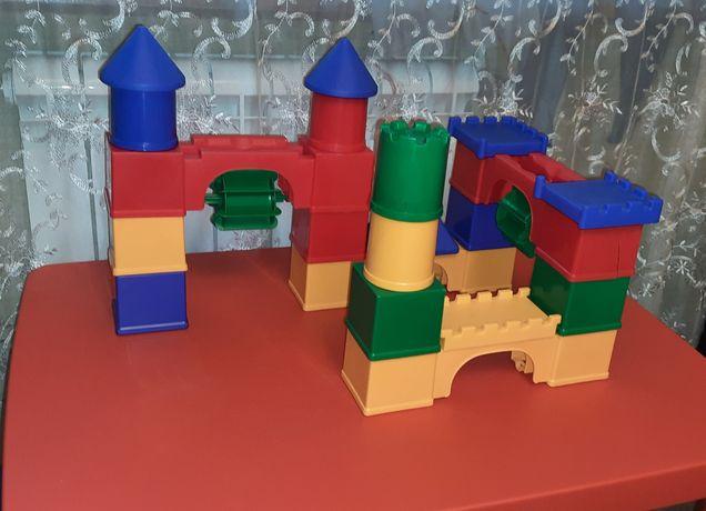 Конструктор.Мега блоки.Конструктор замок.Развивающий конструктор.
