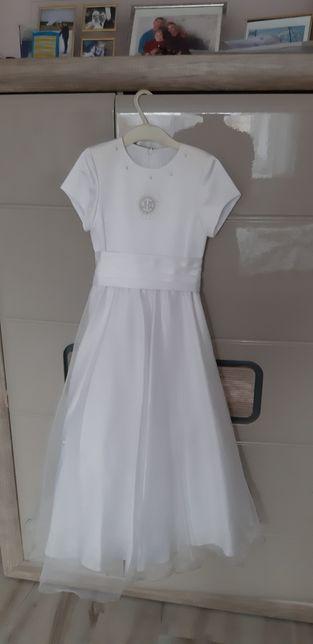 Sukienka do komunii 128 alba