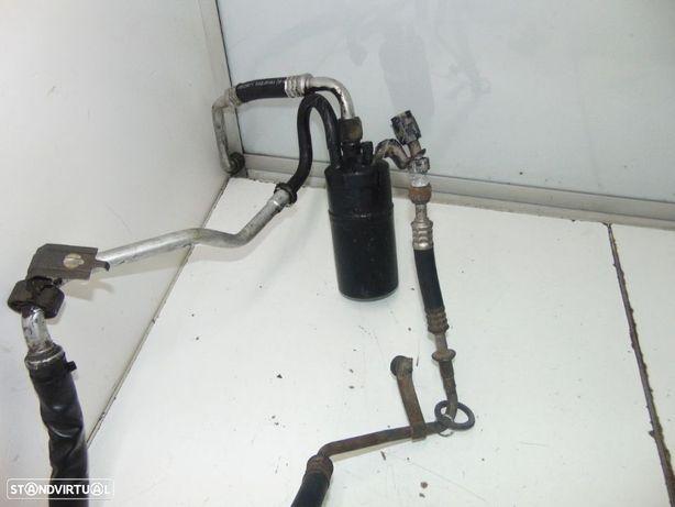 Volvo 480 turbo tubos do ar condicionado e +peças