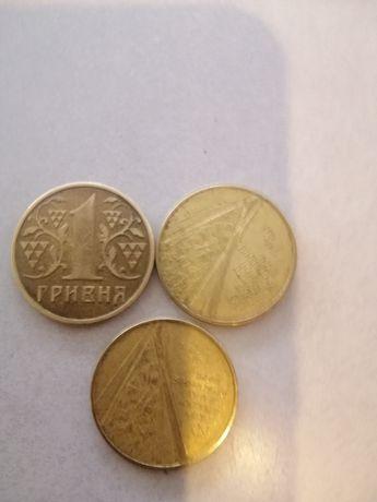 Продам монеты1 гривна