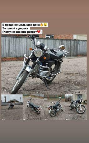 Продам мопед по цене велосипеда