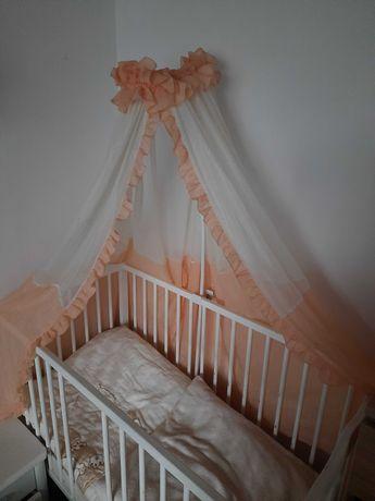 Wspornik+moskitiera do łózeczka