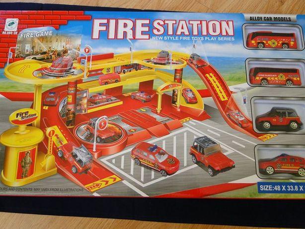 Remiza Straż Pożarna PARKING GARAŻ AUTA