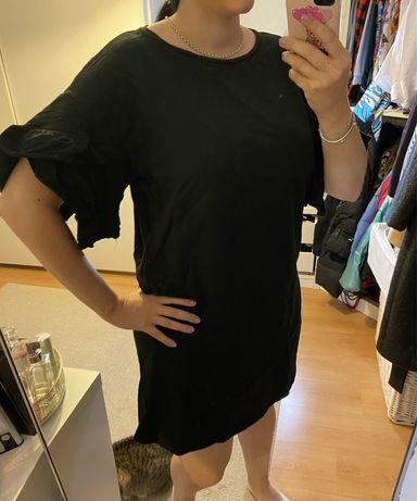 Vestido Zara pormenor manga bufante