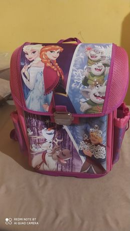 Zamienie lub sprzedam plecak tornister dla dziewczynki Kraina Lodu