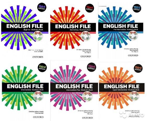 English File Third Edition, New English File, American English File