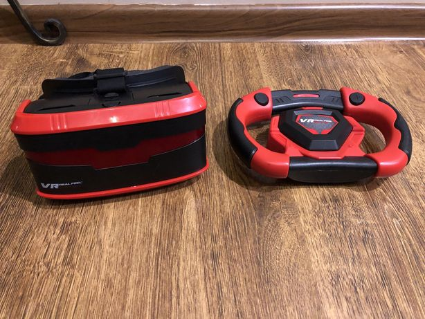 VR Real Feel racing kierownica i okulary