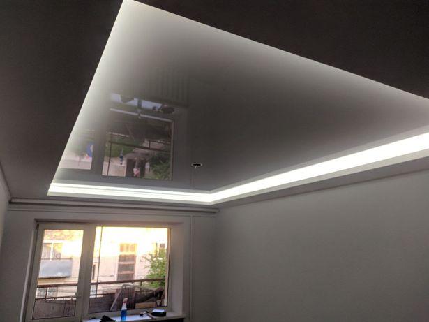 Натяжні стелі+БЕЗКОШТОВНІ точки на світло.