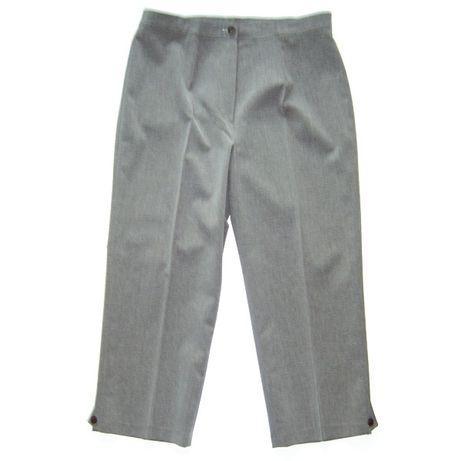 eleganckie spodnie do kolan,spodnie damskie rozmiar 42,fajne spodnie