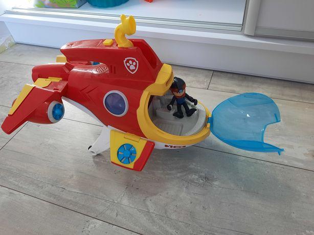 Łódź podwodna psi patrol