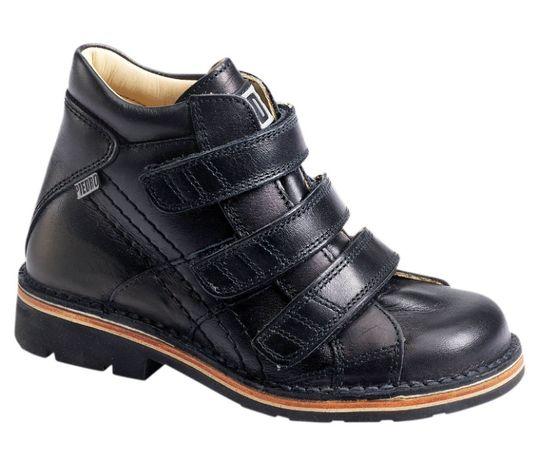 Кожаные ортопедические ботинки Piedro , р 31, стелька 20,5 см, замер т