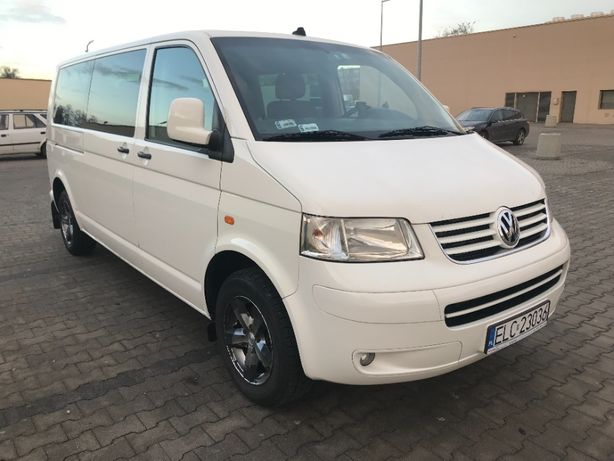 VW T5 Caravelle 2.5 TDI 2007 Long VAT 23%