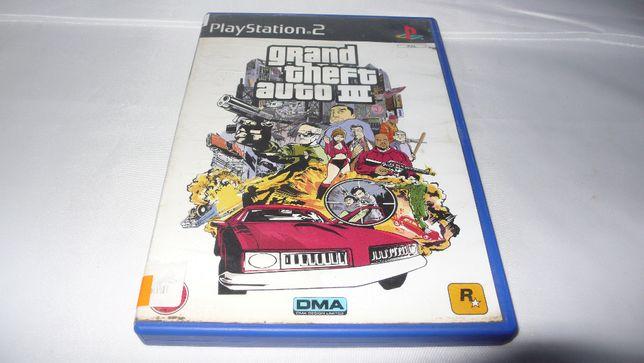 Gra do Playstation2 PS2 Grand Theft Auto III książeczka pudełko płyta