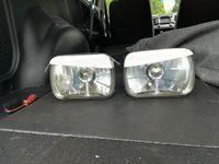 Fiat 126p daszki lamp przednich wąskie i szerokie tuning
