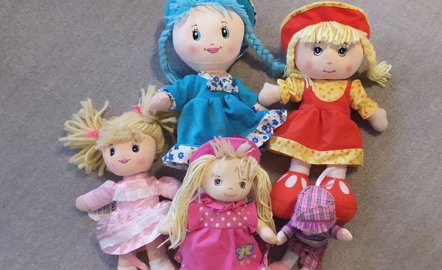 Lalki szmaciane przytulanki dla dziewczynki. Zabawki