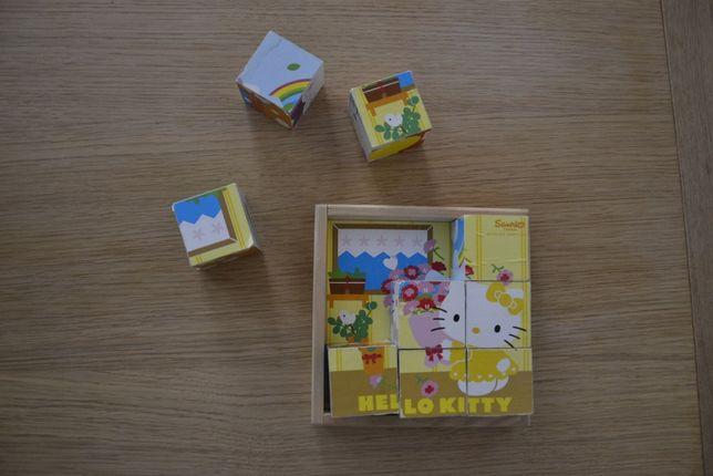 Sanrio Klocki drewniane Hello Kitty