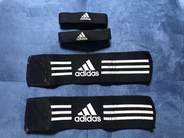 Fitas Adidas para caneleiras/meias