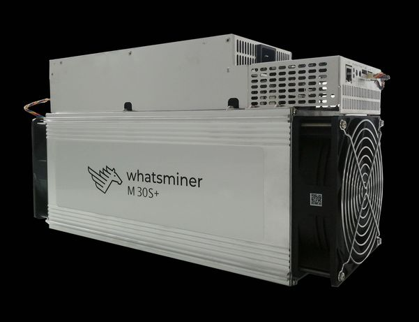 Asic-майнер MicroBT WhatsMiner M30S+ 100 Th/s 3400 Вт с БП