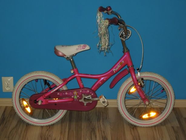 Rowerek dziecięcy GIANT Puddin 16' SUPER STAN! Koła 16 cali