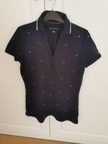 Polo Tshirt Tommy Hilfiger 36 S jak nowe  damskie