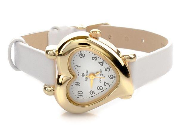 Zegarek komunijny skórzany dla dziewczynki na prezent + pudełko