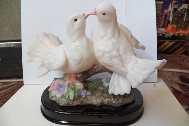 Свадебный декор. Птицы. Парная статуетка
