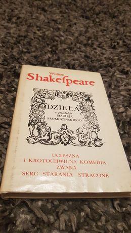 William Szekspir dzielą w przekładzie Macieja Slomczynskiego