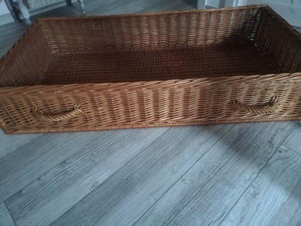 Szuflada wiklinowa pod łóżko polecam