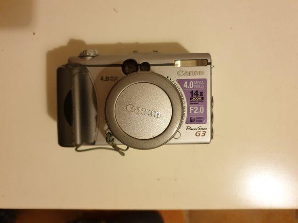 Máquina fotográfica Canon Powershot G3 para peças
